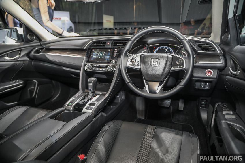 Honda Civic 2020 diperkenalkan secara rasmi di M'sia – dengan Honda Sensing, harga bermula RM113,600 Image #1087665