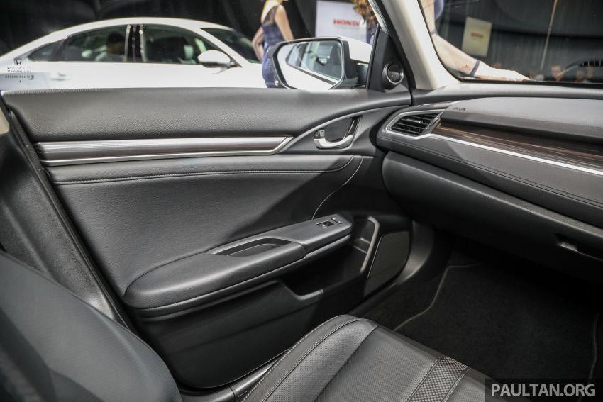 2020 Honda Civic facelift debuts in Malaysia – three variants, 1.8 NA and 1.5 Turbo, RM114k to RM140k Image #1087405