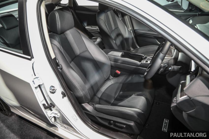 Honda Civic 2020 diperkenalkan secara rasmi di M'sia – dengan Honda Sensing, harga bermula RM113,600 Image #1087671