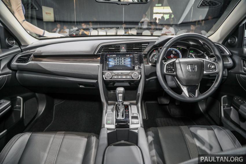 2020 Honda Civic facelift debuts in Malaysia – three variants, 1.8 NA and 1.5 Turbo, RM114k to RM140k Image #1087393