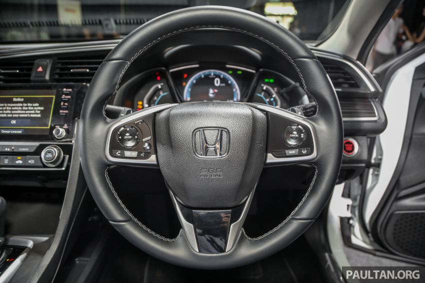 2020 Honda Civic facelift debuts in Malaysia – three variants, 1.8 NA and 1.5 Turbo, RM114k to RM140k Image #1087394