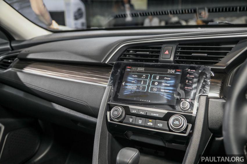 2020 Honda Civic facelift debuts in Malaysia – three variants, 1.8 NA and 1.5 Turbo, RM114k to RM140k Image #1087396