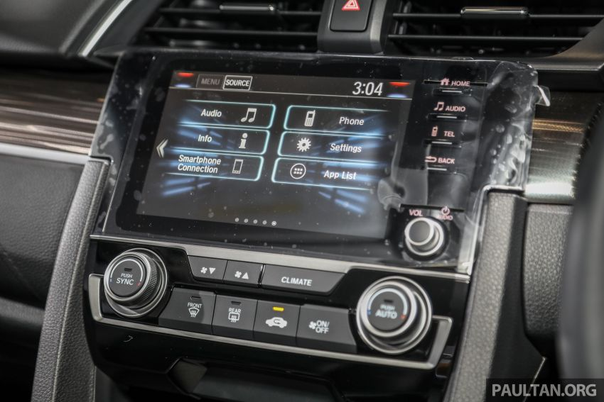 2020 Honda Civic facelift debuts in Malaysia – three variants, 1.8 NA and 1.5 Turbo, RM114k to RM140k Image #1087397