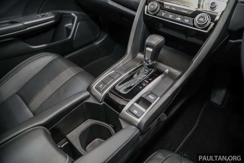Honda Civic 2020 diperkenalkan secara rasmi di M'sia – dengan Honda Sensing, harga bermula RM113,600 Image #1087660
