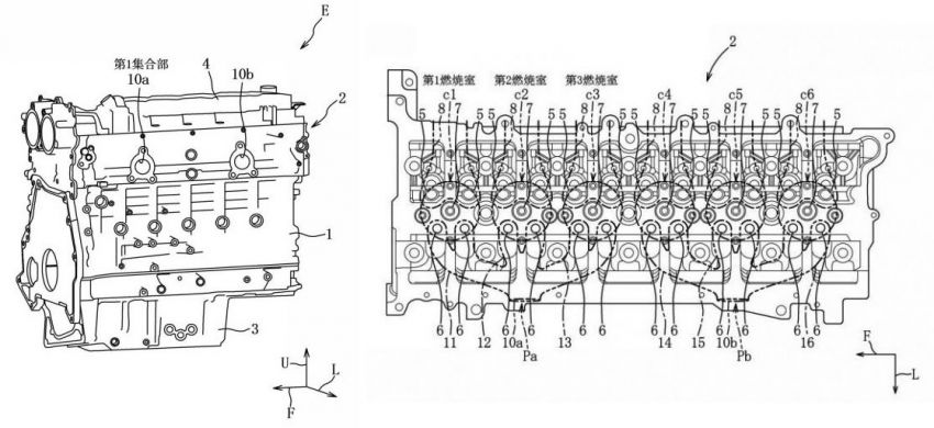 Mazda patents new inline-six engine and 8-speed auto Image #1077096