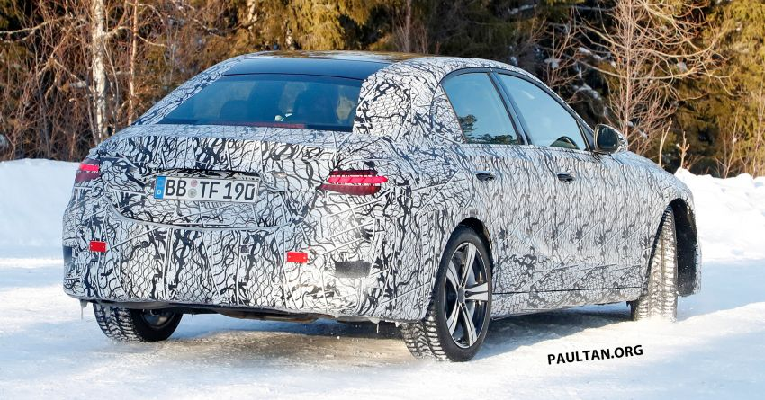 SPIED: W206 Mercedes-AMG C-Class – all-new C53? Image #1089056