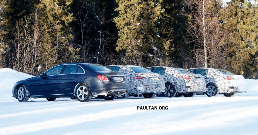 SPIED: W206 Mercedes-AMG C-Class – all-new C53? Image #1089059