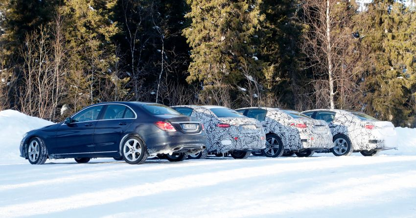 SPIED: W206 Mercedes-AMG C-Class – all-new C53? Image #1089060