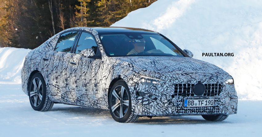 SPIED: W206 Mercedes-AMG C-Class – all-new C53? Image #1089046