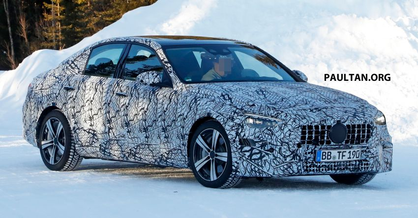 SPIED: W206 Mercedes-AMG C-Class – all-new C53? Image #1089047