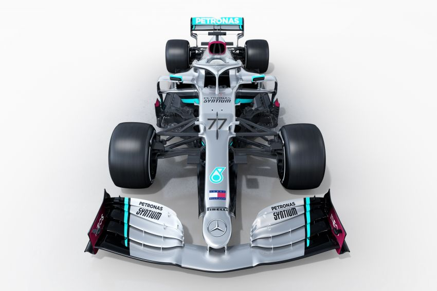 Mercedes AMG Petronas F1 W11 EQ Performance debuts as team, Hamilton chase seventh titles in 2020 Image #1082294