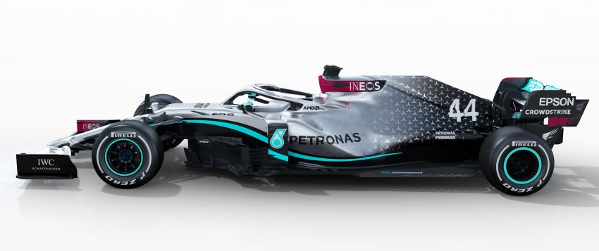 Mercedes AMG Petronas F1 W11 EQ Performance debuts as team, Hamilton chase seventh titles in 2020 Image #1082296