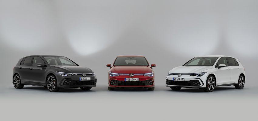 Volkswagen Golf GTD, GTE Mk8 – diesel, PHEV GTIs Image #1088034