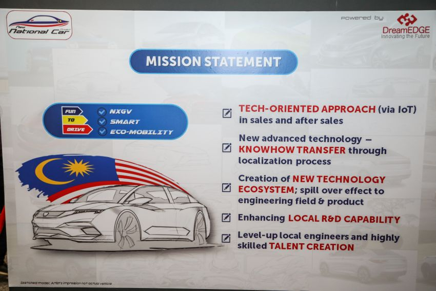 """DreamEdge teases new national car prototype – full Malaysian effort, sedan promises to be """"fun to drive"""" Image #1085500"""