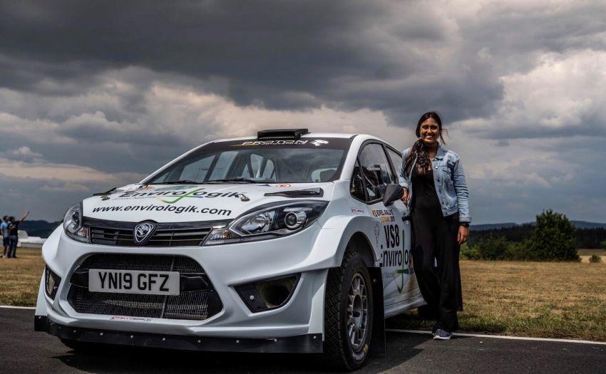 Proton Iriz R5 akan dipandu Nabila Tejpar, juara Rali British Wanita dua kali dipusingan kedua BRC 2020 Image #1085190
