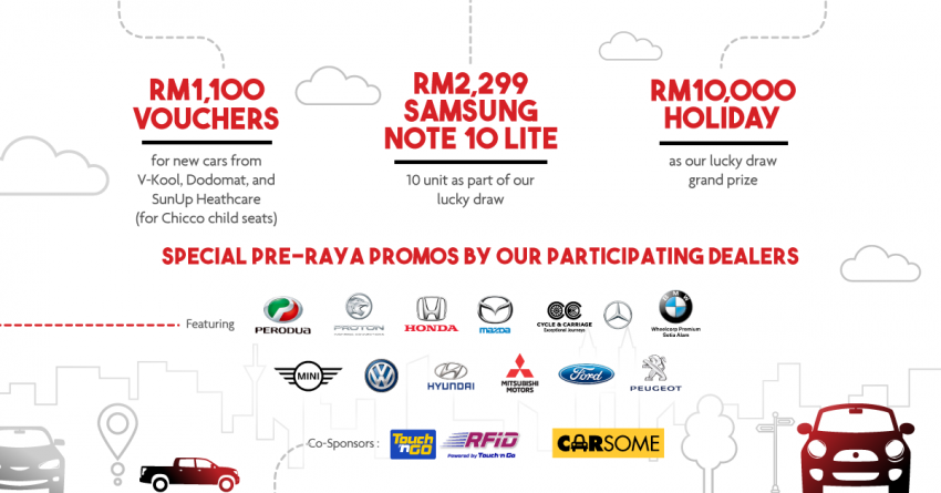 <em>paultan.org</em> ACE 2020 at Setia City Convention Centre next month – get the best deals on your next car! Image #1082282