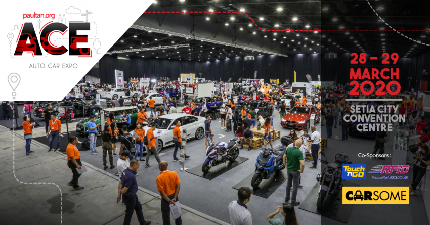 <em>paultan.org</em> ACE 2020 at Setia City Convention Centre next month – get the best deals on your next car! Image #1082283