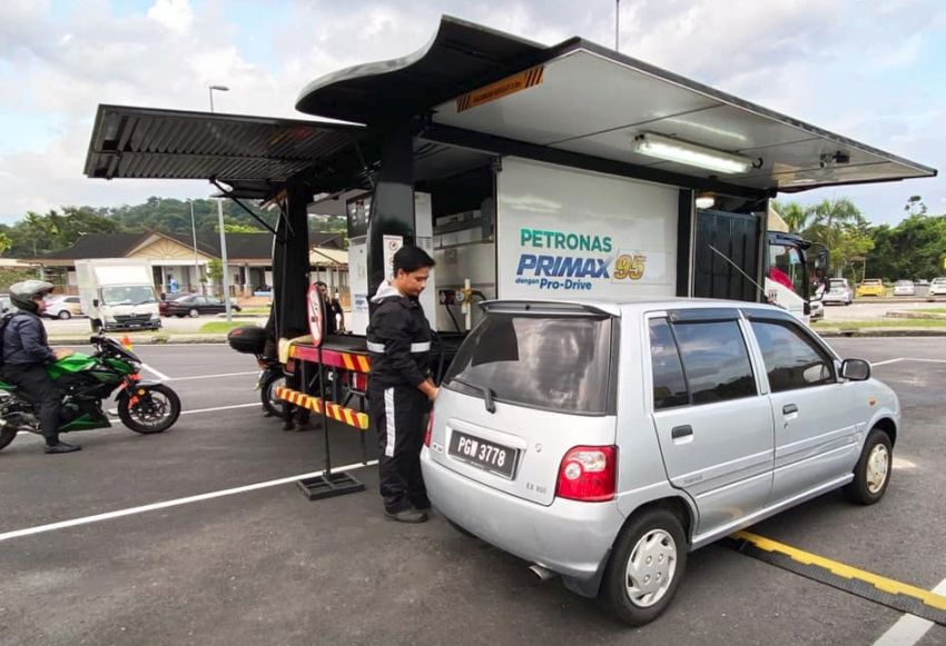 Petronas ROVR mobile refuelling now on MEX highway Image #1083228