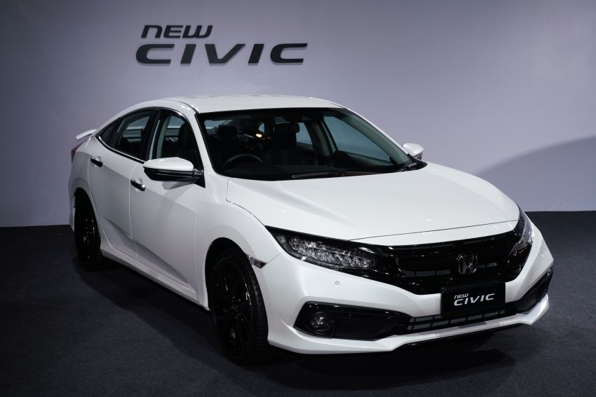 2020 Honda Civic facelift debuts in Malaysia – three variants, 1.8 NA and 1.5 Turbo, RM114k to RM140k Image #1087322