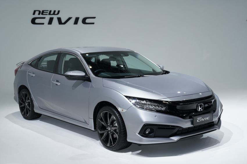 2020 Honda Civic facelift debuts in Malaysia – three variants, 1.8 NA and 1.5 Turbo, RM114k to RM140k Image #1087325