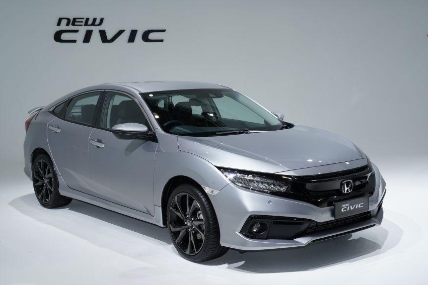 2020 Honda Civic facelift debuts in Malaysia – three variants, 1.8 NA and 1.5 Turbo, RM114k to RM140k Image #1087325