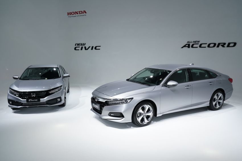 2020 Honda Civic facelift debuts in Malaysia – three variants, 1.8 NA and 1.5 Turbo, RM114k to RM140k Image #1087327