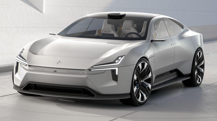 Polestar Precept concept: electric sedan with new look Image #1087052