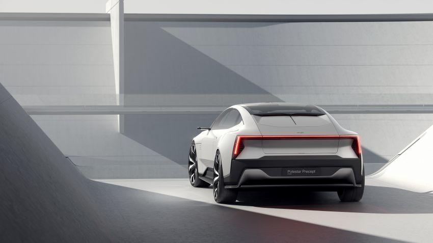 Polestar Precept concept: electric sedan with new look Image #1087054