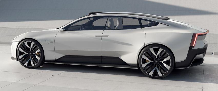 Polestar Precept concept: electric sedan with new look Image #1087057