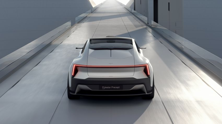 Polestar Precept concept: electric sedan with new look Image #1087058