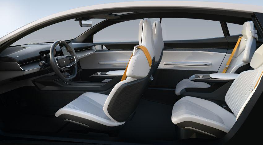 Polestar Precept concept: electric sedan with new look Image #1087062