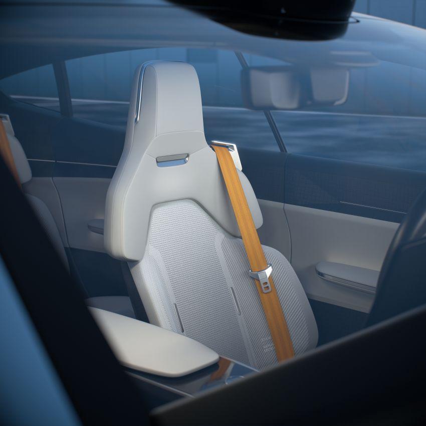 Polestar Precept concept: electric sedan with new look Image #1087063