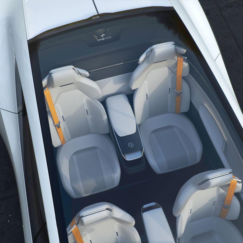 Polestar Precept concept: electric sedan with new look Image #1087067