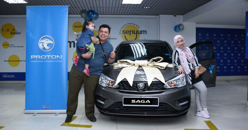 Loyal Proton customer wins new Saga Premium AT Image #1088137
