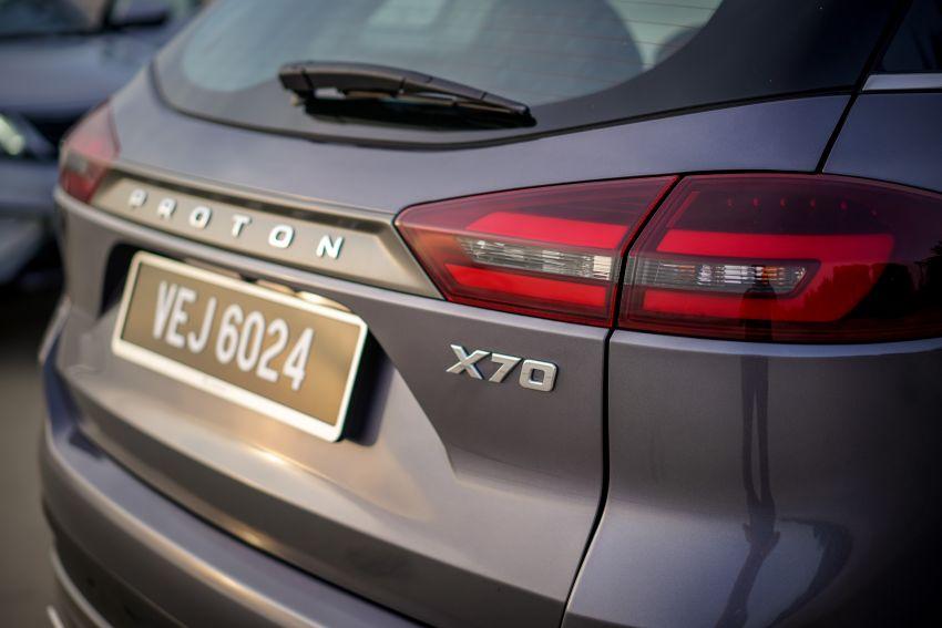 Proton X70 CKD dilancarkan secara rasmi – harga bermula RM95k, kotak gear DCT 7-kelajuan, 4 varian Image #1080305