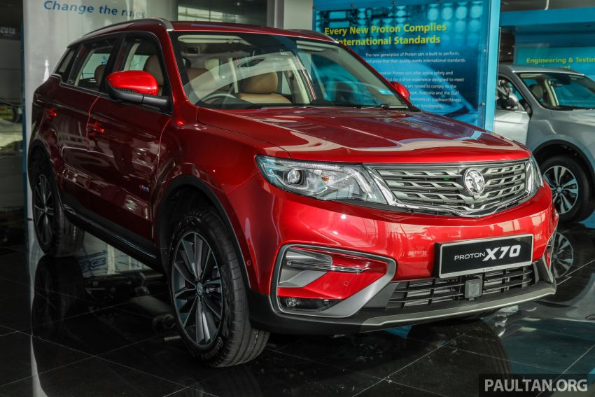 2020 Proton X70 CKD launched: Volvo 7DCT, +15 Nm, 13% better economy, more features, RM95k to RM123k Image #1081246