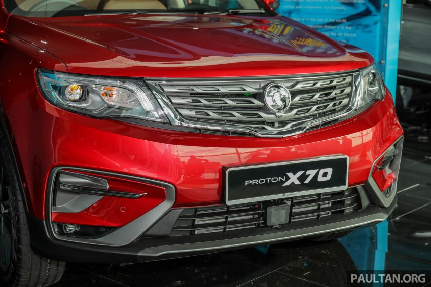 2020 Proton X70 CKD launched: Volvo 7DCT, +15 Nm, 13% better economy, more features, RM95k to RM123k Image #1081249