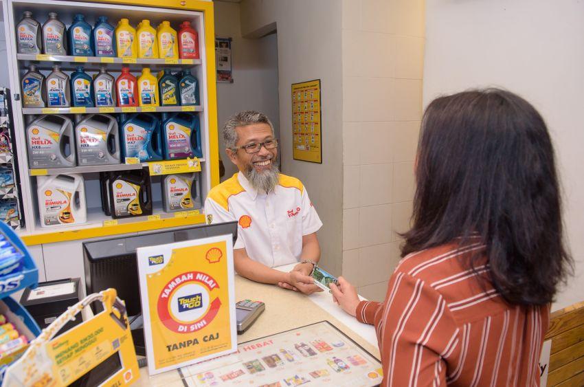 Shell lupus caj 50 sen untuk tambah nilai TNG di semua stesennya di Lebuhraya NKVE, ELITE dan LPT Image #1084123