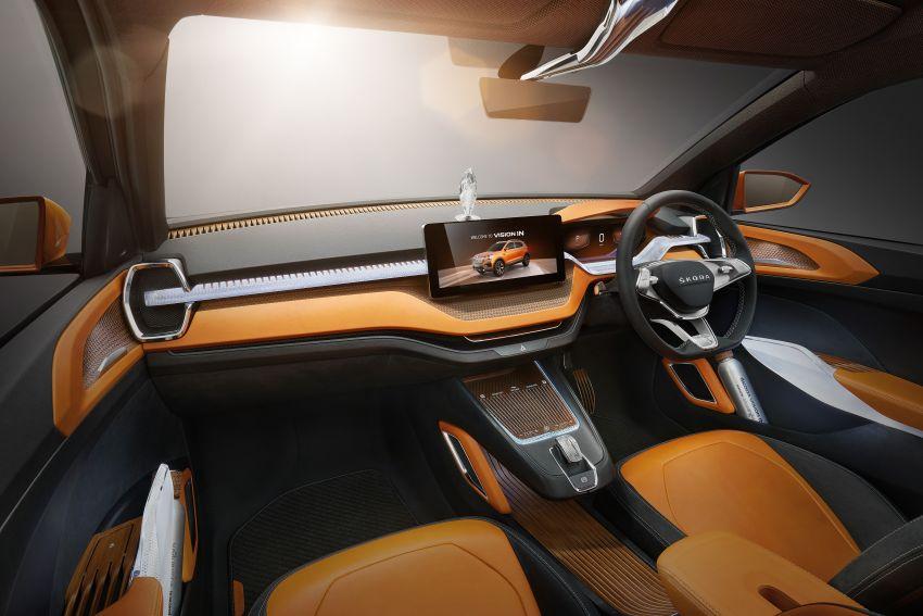 Skoda Vision IN concept previews crossover for India; MQB A0-IN platform model set for 2021 market debut Image #1076562