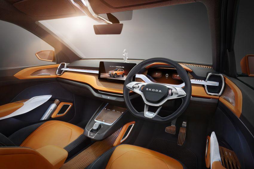 Skoda Vision IN concept previews crossover for India; MQB A0-IN platform model set for 2021 market debut Image #1076563