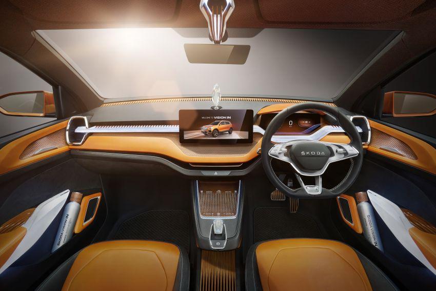 Skoda Vision IN concept previews crossover for India; MQB A0-IN platform model set for 2021 market debut Image #1076564