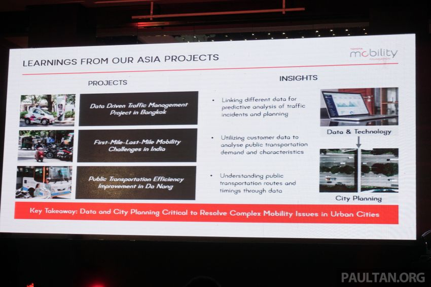 Toyota Mobility Foundation launches City Architecture for Tomorrow Challenge with MDEC in Kuala Lumpur Image #1082252