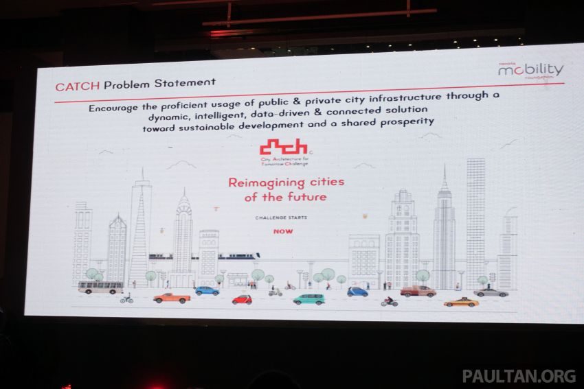 Toyota Mobility Foundation launches City Architecture for Tomorrow Challenge with MDEC in Kuala Lumpur Image #1082257
