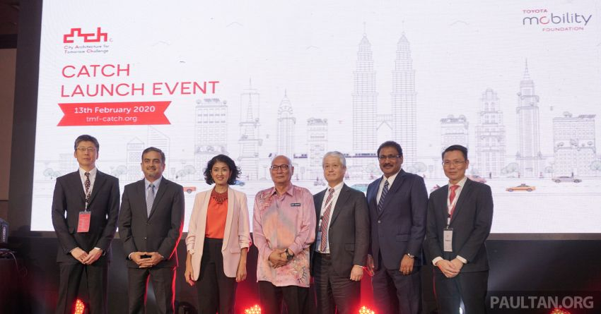 Toyota Mobility Foundation launches City Architecture for Tomorrow Challenge with MDEC in Kuala Lumpur Image #1082267