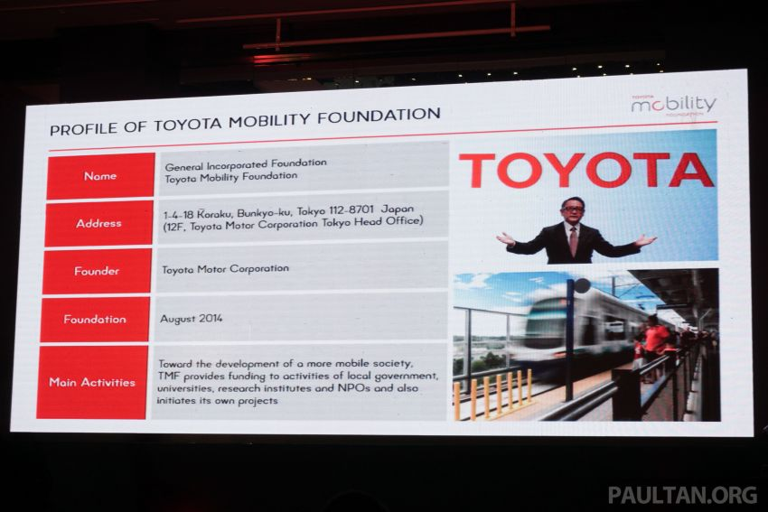 Toyota Mobility Foundation launches City Architecture for Tomorrow Challenge with MDEC in Kuala Lumpur Image #1082247