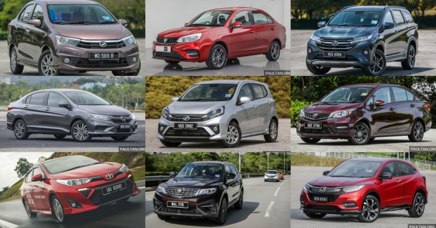 Top 10 best-selling car models in Malaysia in 2019 Image #1077567