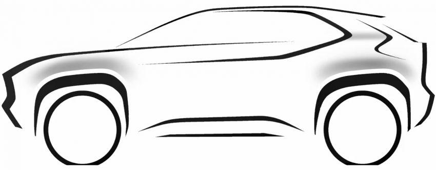 Toyota teases new B-segment SUV – debuts in Geneva Image #1083586