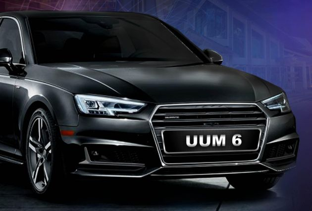 UUM series car plate number