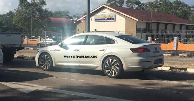 SPIED: 2020 Volkswagen Arteon in Pahang – CKD? Image #1077870