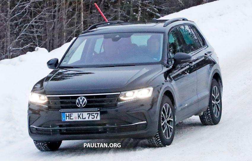 SPYSHOTS: Volkswagen Tiguan facelift seen on test Image #1081139